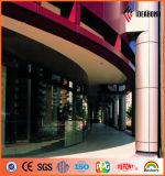 Panneau composé en aluminium de spectres matériels décoratifs d'OEM Servies (ACP)