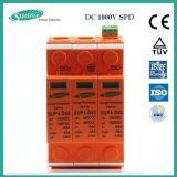 Stromstoss-Überspannungsableiter-Stromstoss-schützende Einheit 2p DC1000V 20-40ka SPD
