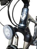 Luz plástica de la pista del dínamo de la bicicleta (HDM-025)