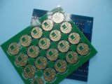 PCB回路の最小スペース6.8ミル4つの層の銅のボード