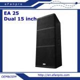 Sle caliente se dobla el altavoz profesional audio del altavoz de 15 pulgadas (EA 25)