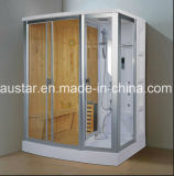 Sauna combinada a vapor de 1800 mm com chuveiro (AT-D8853)