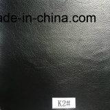 Schwarzes synthetisches Leder für Möbel