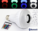 Drahtloser angeschaltener LED-Birnen-Licht Bluetooth Fernsteuerungslautsprecher