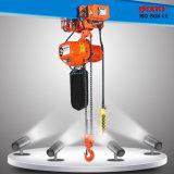 3 elektrische Kettenhebevorrichtung der Phasen-380V 50Hz mit dem Laufkatze-Anheben