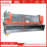 QC12y 8X4000の小さい油圧振子の版機械、よい価格CNCのせん断機械