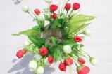 Barata de Flores Artificiales Flores falsas para el hogar decoración de bodas mayoristas