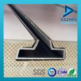 Profil en aluminium direct de l'extrusion T5 de la vente 6063 d'usine pour des forces de défense principale de Slatwall de garniture intérieure