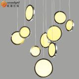 LED-hängende Lampen-Kristalldreieck-dekorative hängende Lampen für Hotel Om66158