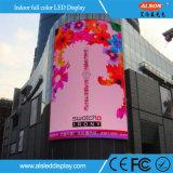 Economia de custos com P10 Video wall de LED de exterior para publicidade