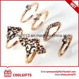 Nueva llegada 6pzas/Definir estilo Boho conjuntos de anillo de dedo de diamantes de la mujer