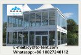 Шатер структуры двойного Decker высокого качества фабрики с настилом VIP