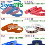Förderndes preiswertes kundenspezifisches Form-Silikon-Armband