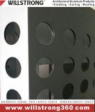 Painel composto perfurado de Alu para o revestimento da parede