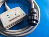 Cable del tronco 10 EKG/ECG del IEC de Kanz 16pin
