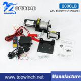 ATV cabrestante eléctrico con la cuerda de acero (2000lb-3)