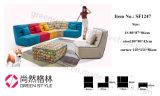 不精な男の子の家具製造販売業のソファーファブリックコーナーのソファーSf1247