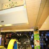 Décoration en bois couleur du grain de l'intérieur mur rideau métallique en aluminium Panneau au plafond pour la vente
