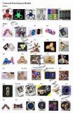최신 판매 플라스틱 금속 LED 빛난 손 방적공