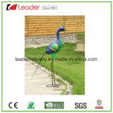 Beeldje van de Gans van de Vogel van het Metaal van de best-seller het Dierlijke voor de Decoratie van het Gazon en van de Tuin