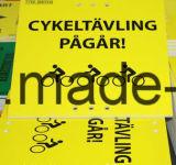 Impression numérique / sérigraphie pour feuilles ondulées PP / Corflute / Correx / Coroplast Sign