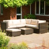 Mobiliário de jardim clássico multi-uso de mobiliário de exterior Rattan Chairs Lounge Sofa Set