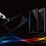 Beschermer van het Scherm van het Glas van de Verhoging van de rand de vlak Transparante Aangemaakte voor iPhone 6/6 plus de Film van de Telefoon