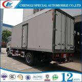 HOWO piccoli 6 Wheel Refrigerator Van Truck