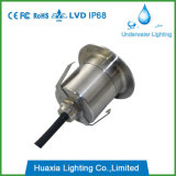 3W calientan la luz subterráneo ahuecada LED blanca IP68