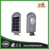 6W Venta caliente al aire libre de fácil instalación solar LED de luz de pared