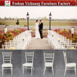Chinesischer stapelbarer Hochzeits-Stuhl Tiffany-Chiavari für Hotel und Bankett-Raum (YC-A21)