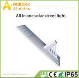 80W 5 van de Garantie van de Helderheid van de Vrije van de Energie Zonne van de Straatlantaarn Jaar Lamp van de Werf