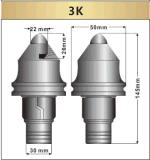 Piezas de perforación de pilotes de la Fundación para el controlador de pila