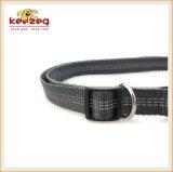 Reflexivo manos libres perro leash, correa ajustable y cinturón (kc0088)