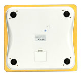 Gold Color 200kg Large LCD 8mm Tempered Glass Digital Personal Body Health Scale