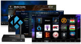 Boîtier décodeur intelligent androïde en gros Amlogic S905 M9smax de TV
