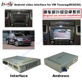 Поверхность стыка автомобиля видео- для системы Фольксваген Touareg 6.5 Inchs RCD550, Android задего навигации и панорамы 360 опционной