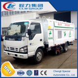 Isuzu 4X2 6 Cbm Vacuum Car Dust Cleaner Truck