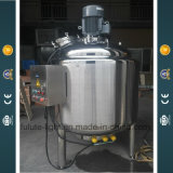 Réservoir de mélange de fromage électrique de chauffage d'acier inoxydable de catégorie comestible