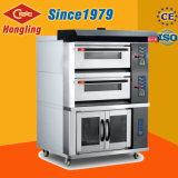 Forno elettrico del forno della piattaforma sicura e certa del pane da vendere
