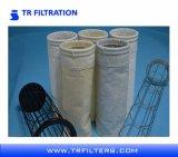 Sacos de filtro acrílicos industriais do coletor de poeira