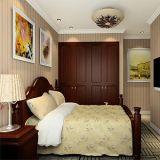Madeira maciça de luxo moderno Porta Articulada Roupeiro Quarto Closet