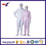 電子工場のためのリント・フリーの帯電防止衣類