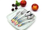 Cutlery нержавеющей стали высокого качества 2017 с эпоксидной смолой для трактира и дома гостиницы