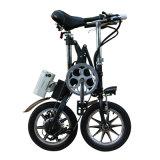 E-Bici plegable eléctrica de la bicicleta de 250W 36V 16inch con la bici eléctrica/de aluminio del marco de la batería de litio/del acero de carbón