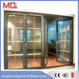 Porta de dobradura de alumínio Mqd-2 do acordeão comercial