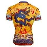 Рубашки китайского дракона холодные задействуя для напольной короткой втулки Джерси