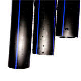 Tubo della plastica dell'acqua del PE di Dn16mm-Dn1800mm