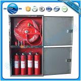 Cabinet de bobine de tuyau d'incendie à montage mural