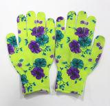 безшовная Nylon перчатка Dotts сигнала 13gauge Анти--Разделила дешевые перчатки работы